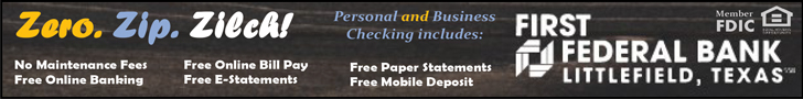 First Federal - Free Checking Banner