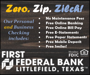 First Federal - Free Checking Box Ad