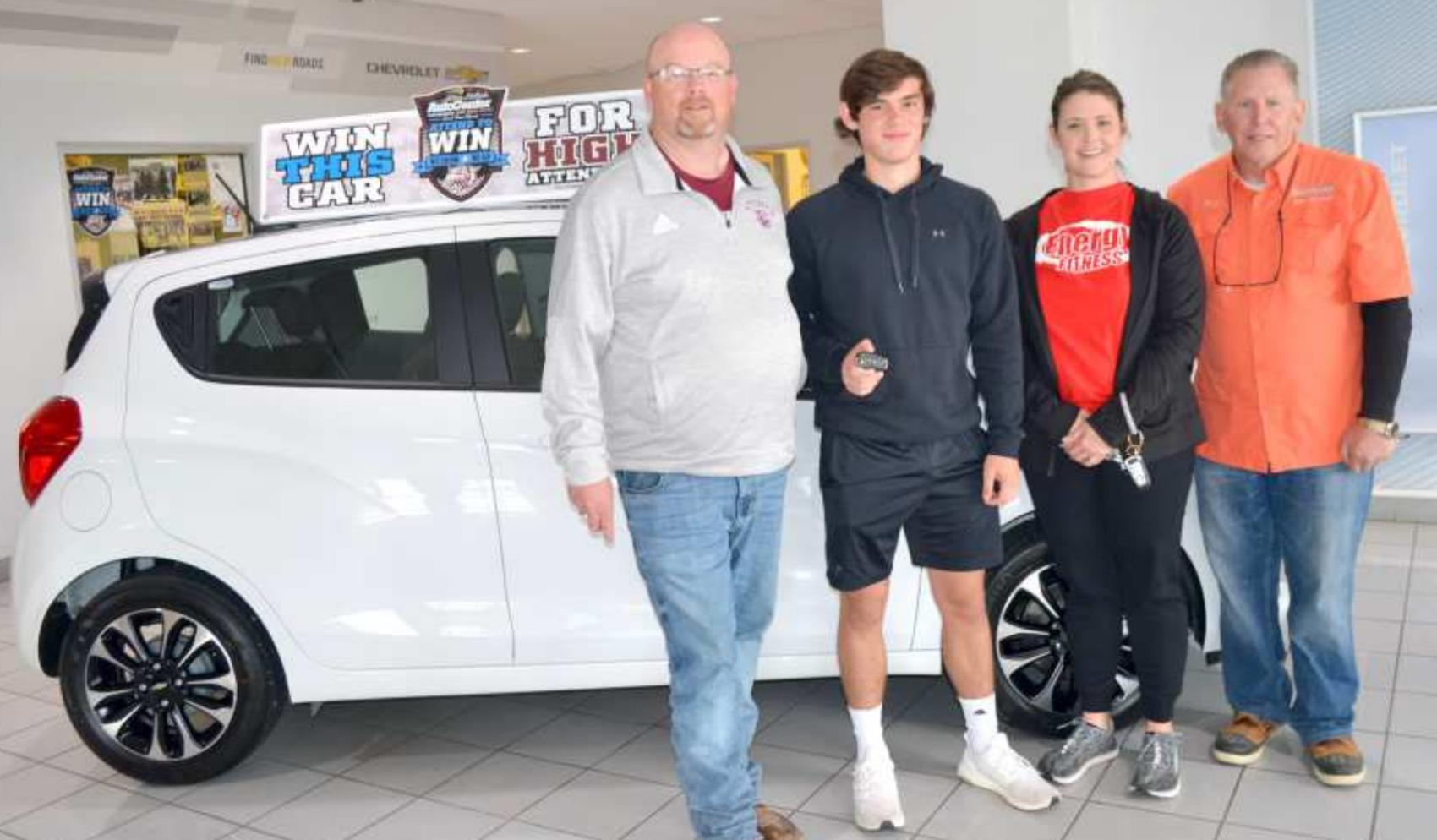LITTLEFIELD STUDENT WINS CAR!